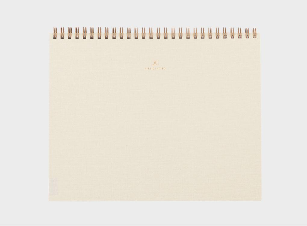 Sketch Pad in Cream by Appointed Co.