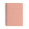 Bucket List Journal in Coral Pink by MiGoals at MOXON