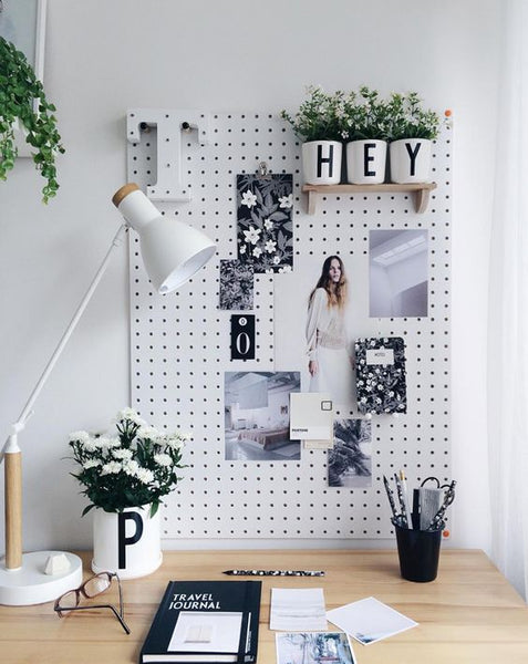 Stylish Home Office Wall Mesh Board
