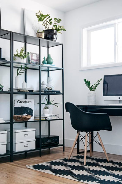 Stylish Home Office Shelving Solutions