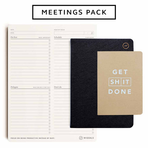 MiGoals Meeting Pack