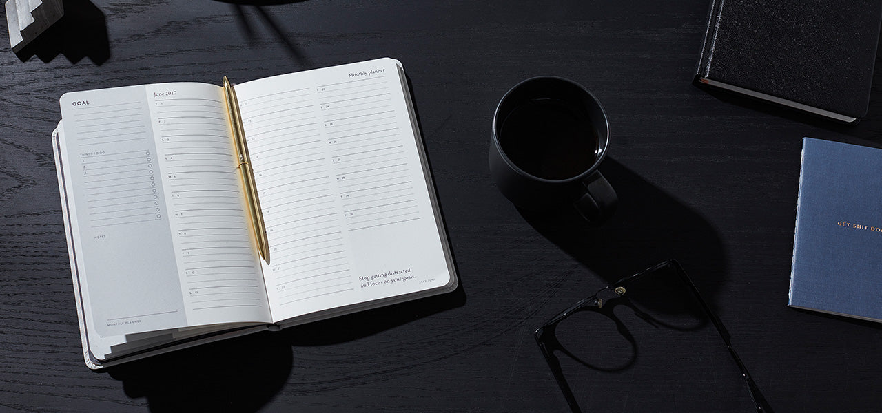 Achieve your goals with the Goal Book Journal by MiGoals for MOXON