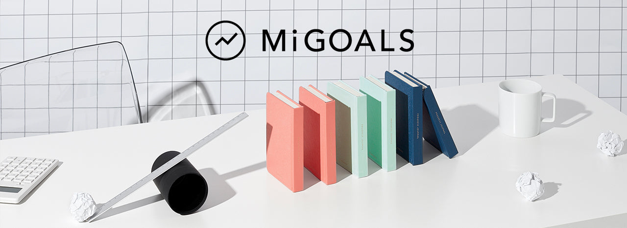 Mi Goals UK Goal Diaries, Journals and Get Shit Done Planners