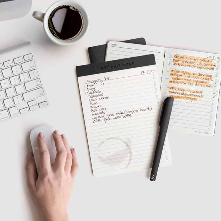 Mi Goals UK to do list desk pads and productivity books