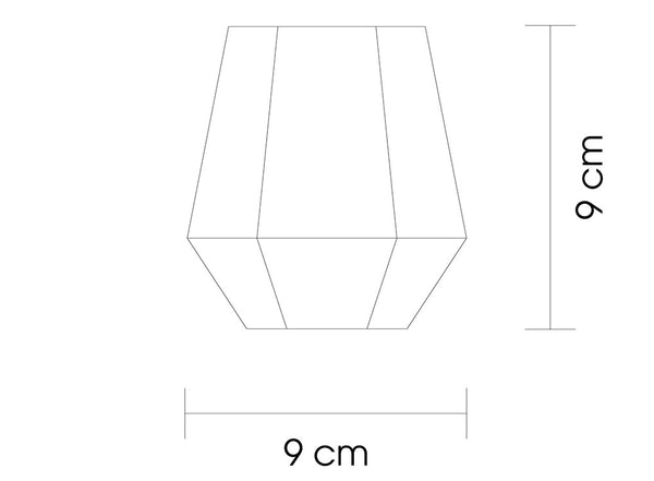 Radient Glasses Dimensions