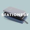 Stack of Stylish Printed Stationery