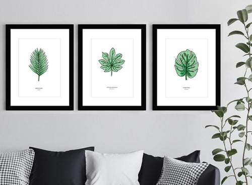 Leaf Prints by MOXON