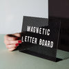 Magnetic Letter Board by MOXON