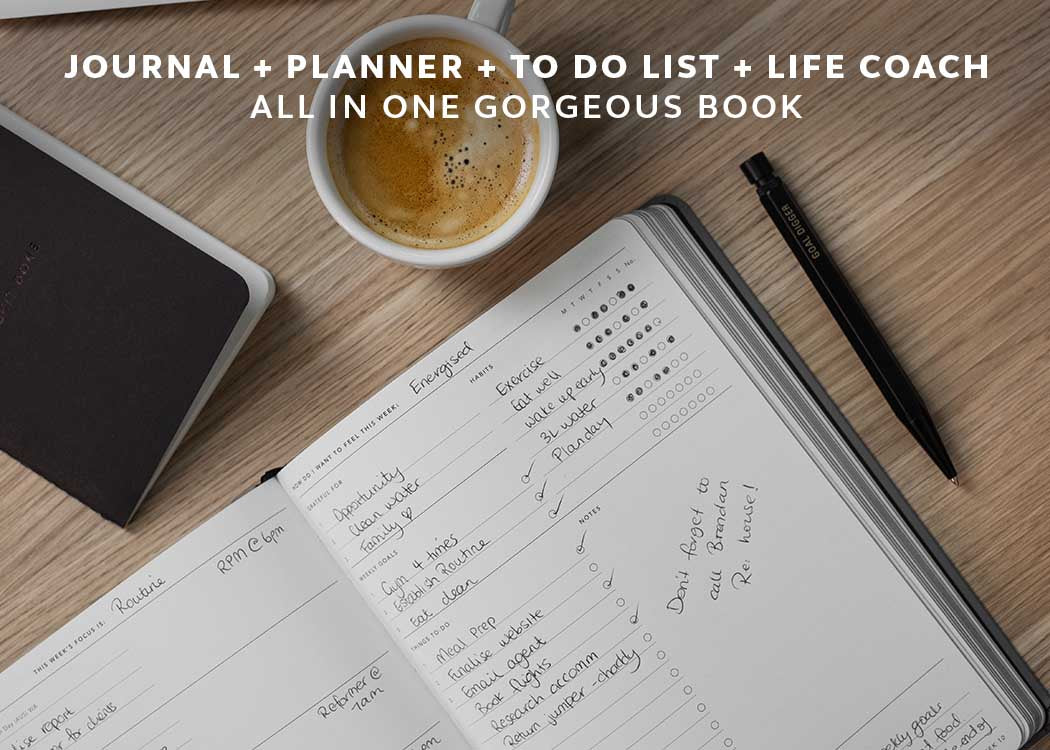 MiGoals 2021 Goal Diary Journal