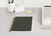 Charcoal Grey 6 Month task planner by Appointed. Ring bound premium notebooks with FREE Shipping