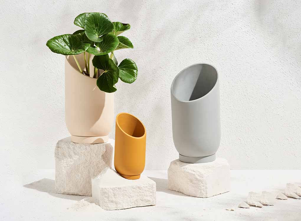 Range of Summit Planter by Capra Designs, Hand-made plant pots designed in Melbourne