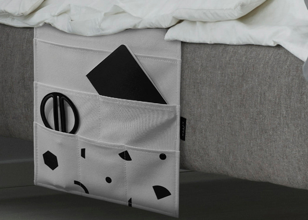SHAPES BED POCKET ORGANISER