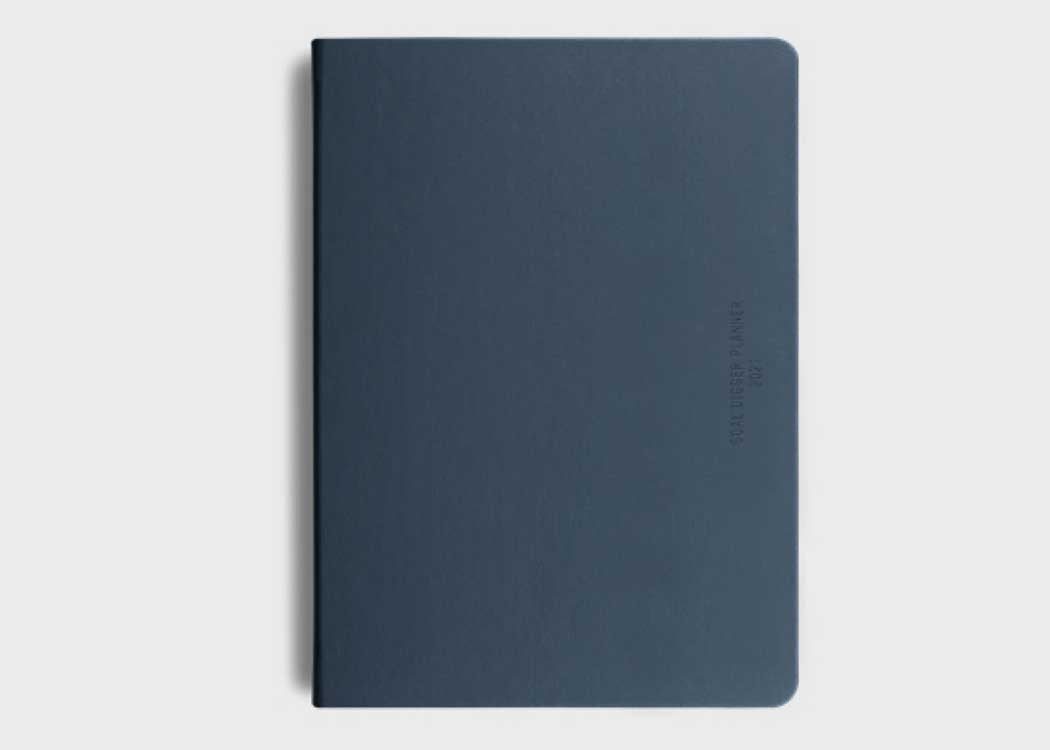Navy Goal Digger Diary in Navy by MiGoals. Goal Digger Planner, Journal and Diary