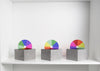 A collection of Rainbow Box's Designed by Korridor Design