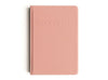 A5 Coral Linen Hard Cover MiGoals Bucket List Journal