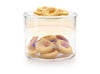 Circum, Puik Art glass design biscuit and cake storage containers