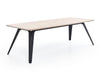 FOLD table oak with black steel by Puik Design