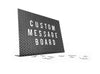 Custom Message Board with Magnetic Letters by MOXON
