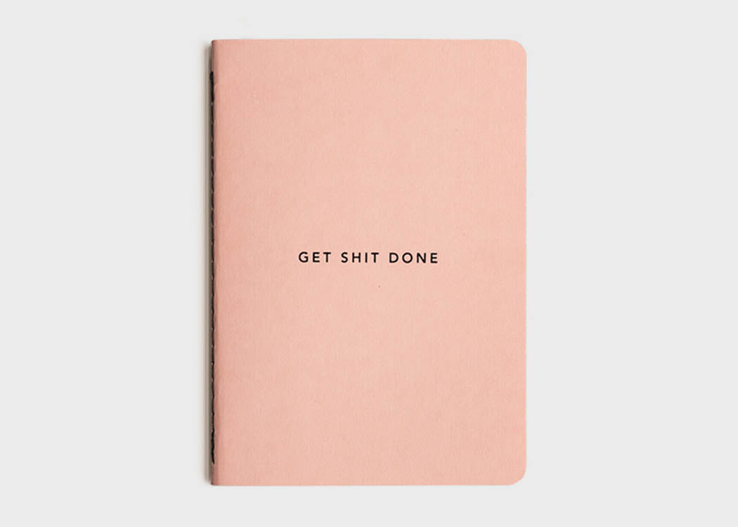 GET SHIT DONE TO-DO-LIST NOTEBOOK (MINIMAL)