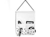 MOXON Shapes Hanging Organiser in black and white contemporary print