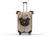 ANIMAL SUITCASE COVER - CAT / PUG