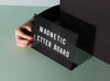 Magnetic Letter Board by MOXON London