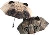 Pikkii fun pug and cat animal umbrellas