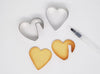 Make amazing personalised cookies for the people you love! Heart shaped cutter + pen. Write your own message to them. Worldwide shipping. Free UK shipping over £30.