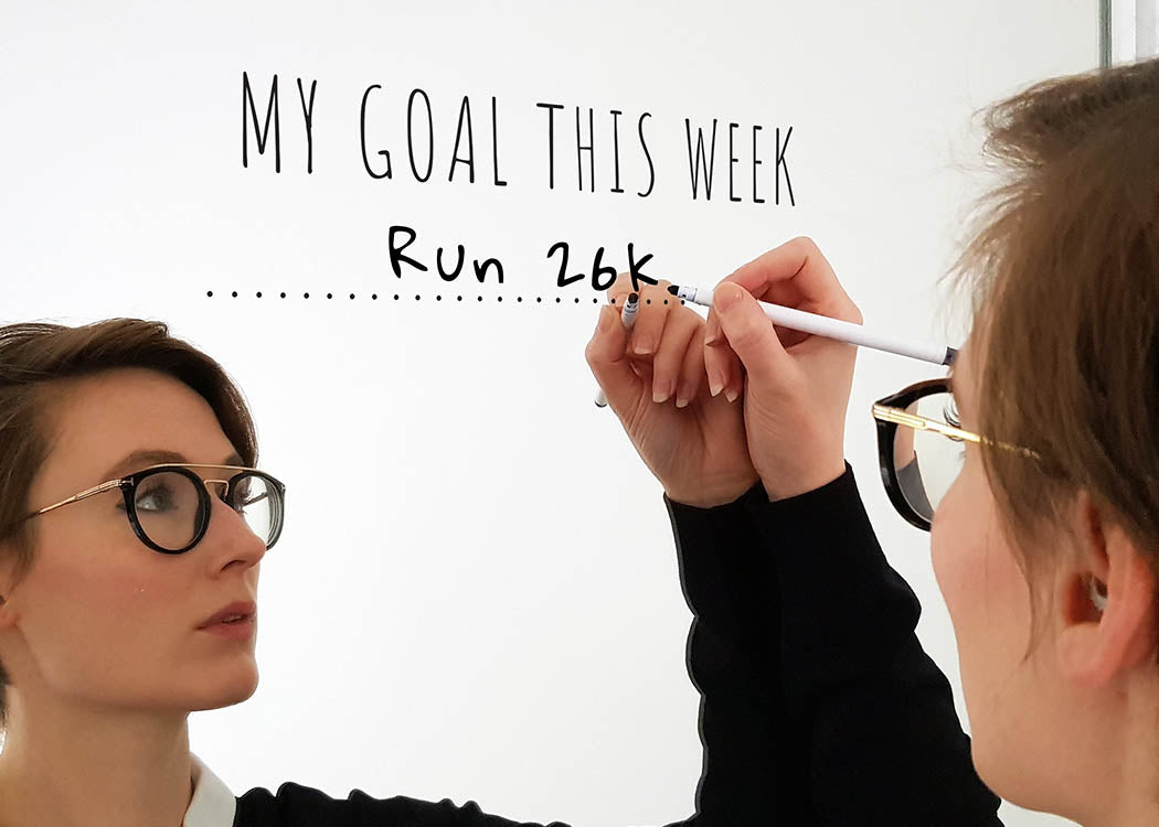 Pikkii My Goal This Week Motivational Mirror Sticker and Pen Kit