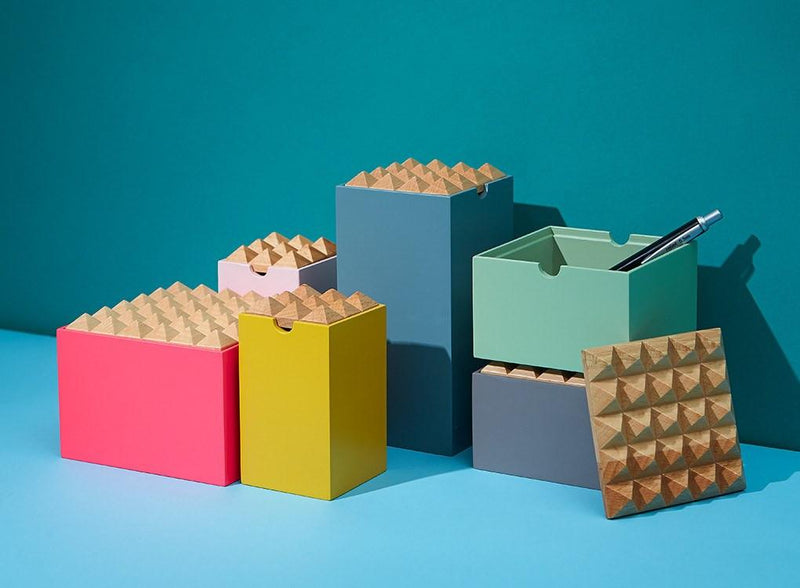 Pyramid Trinket Boxes By Korridor Colourful Jewellery