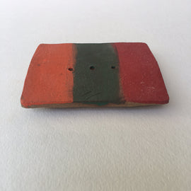 Soap Dish - Orange/Green/Red