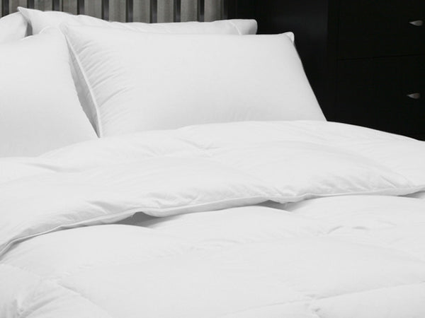 Specially sourced Siberian Country Down duvet gives comfort and warmth