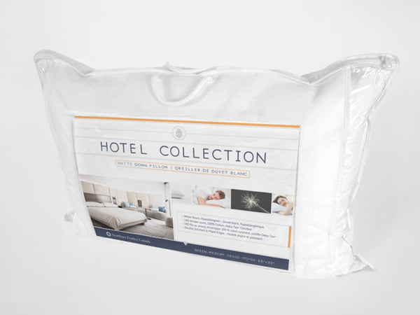 Hotel Collection White Down Pillow Northern Feather