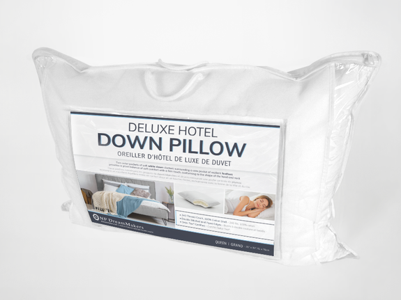 Deluxe Hotel Down Pillow