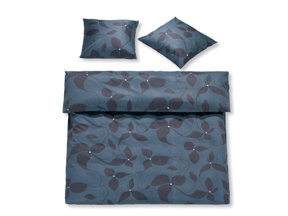 Shadow Leaves Grafit Bonjour Duvet Cover