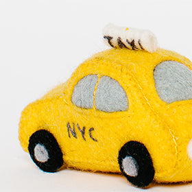 Handmade Gifts NYC Taxi Cab
