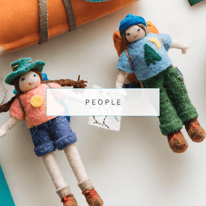 Craftspring Hand Felted Wool People