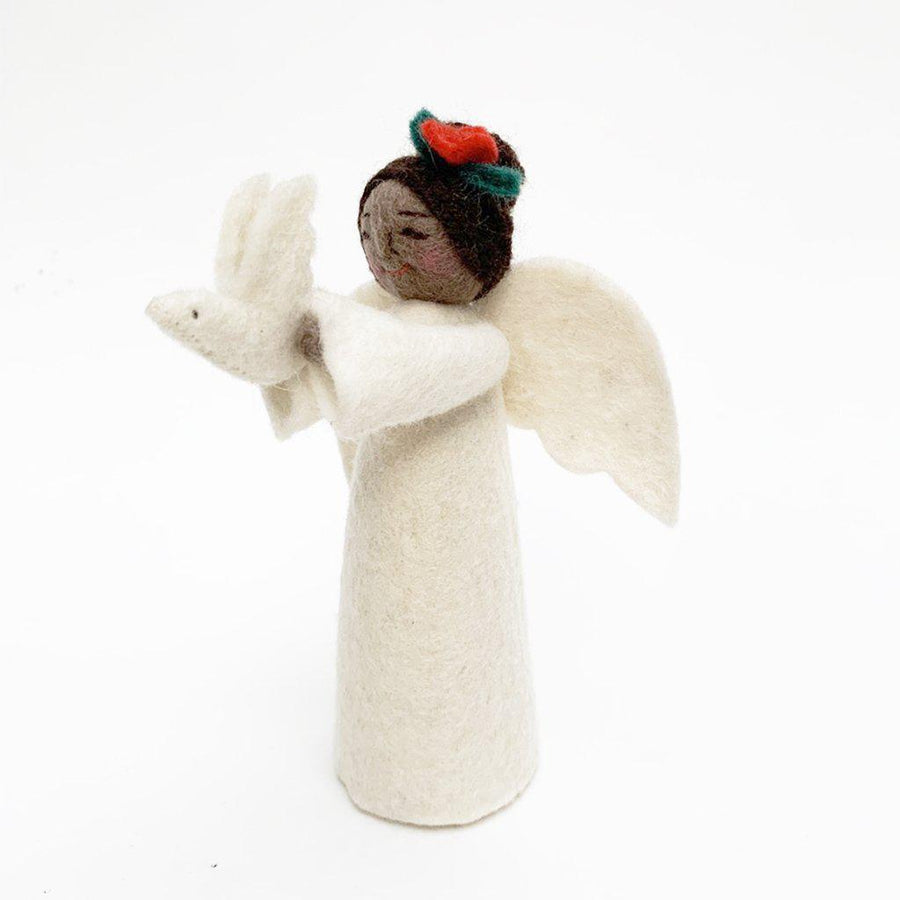 Brown Gift of Peace Angel