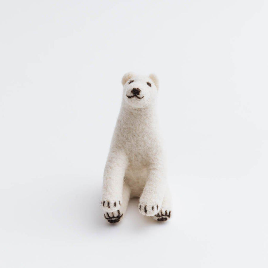 Arctic Circle Polar Bear Ornament