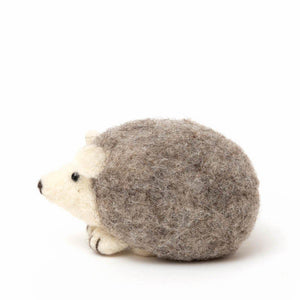 Natural Baby Hedgehog Ornament