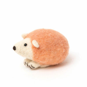 Pink Baby Hedgehog Ornament