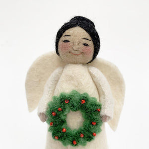 Holiday Joy Angel with Black Hair