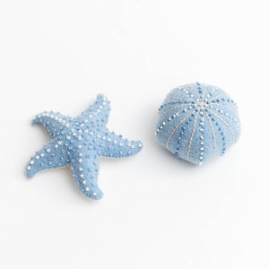 Blue Sea Urchin Ornament