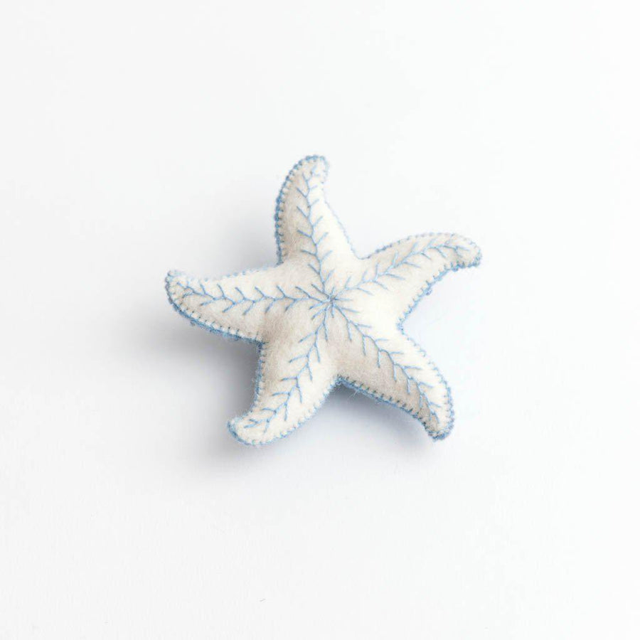 Blue Wave Starfish Ornament