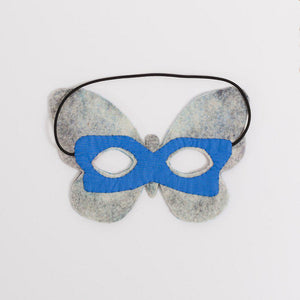 Blue Wonder Morpho Butterfly Mask