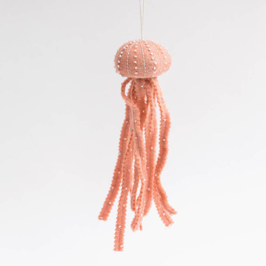 Blush Jellyfish Ornament
