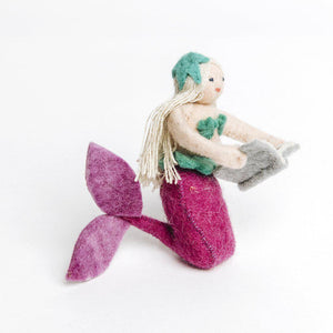 Book Lover's Mermaid