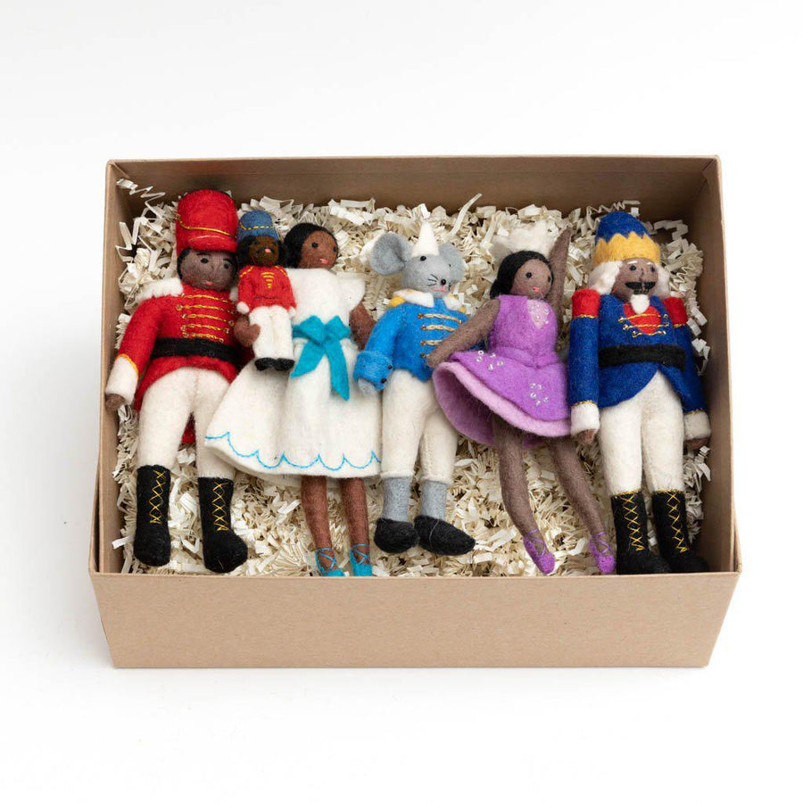 Brown Beauty Handmade Nutcracker Gift Box Set