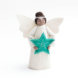 Brown Beauty Jade Star Tree Topper