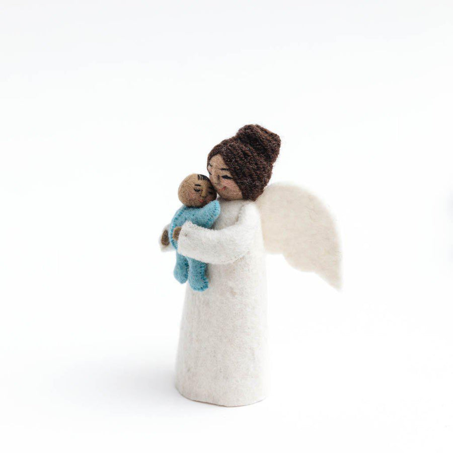 Brown Mother's Presence Angel Blue